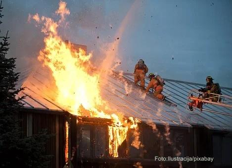 Gašenje požara u tržnom centru u bloku 70 će potrajati