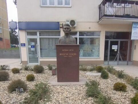 Spomen-bista Milosavu Vlajiću u Sopotu