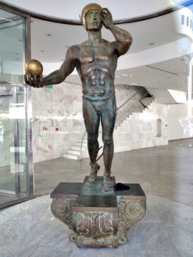 Skulptura Merkura u Beogradu
