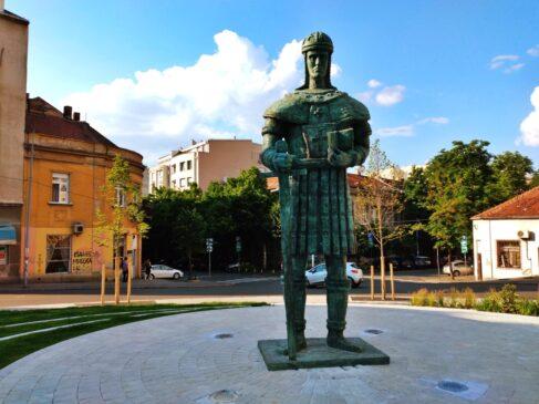 Spomenik despotu Stefanu Lazareviću u Beogradu