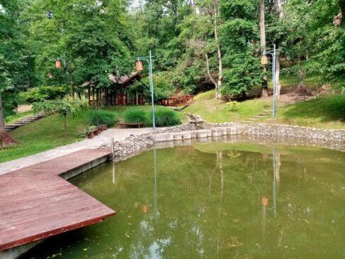 Japanski vrt u Vrnjačkoj banji
