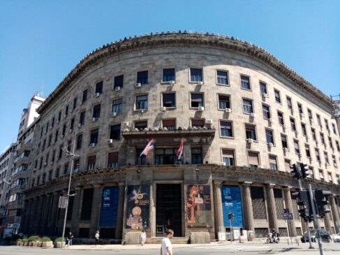 Zgrada Agrarne banke u Beogradu
