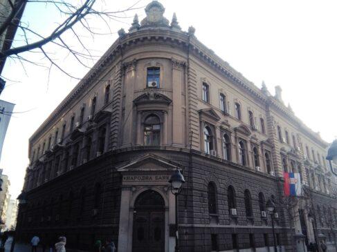 Zgrada Narodne banke Srbije u Ulici kralja Petra u Beogradu