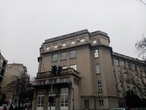 Zgrada Ekonomske škole u Beogradu
