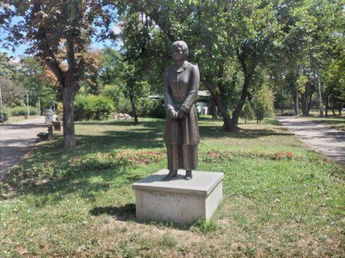 Spomenik Isidori Sekulić u Beogradu