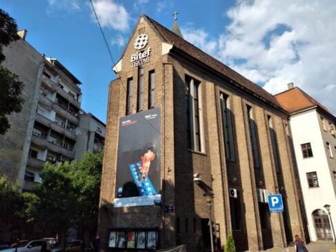 Zgrada Bitef teatra u Beogradu