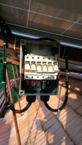 Solar Off Grid System - Array Junction Box