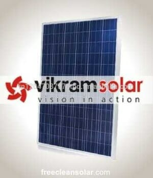 On Grid Solar Electric Generating System - PV Module Vikram Solar