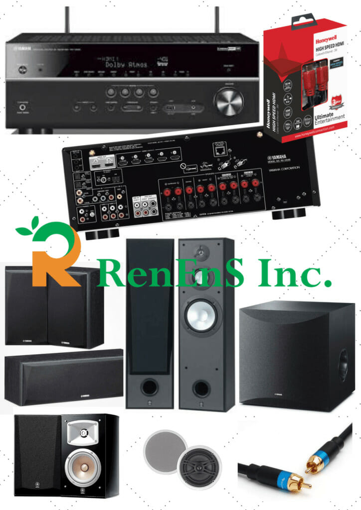 Basic Home Theater System Package - Yamaha AVR 685