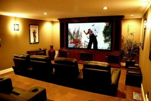 Home Theater system - Cinema Room