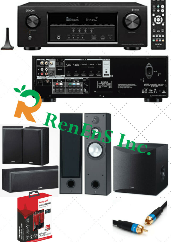 Low Budet Home Theater System - Yamaha