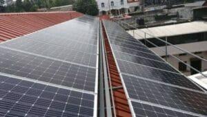 Best Solar Panels - 20KW Panel mounted over sheet