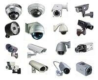 CCTV Cameras - Various Types