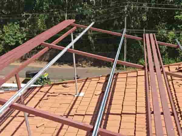 Solar Products portfolio - Two walkways for each row