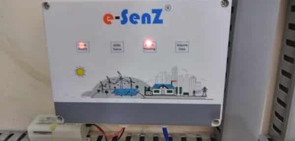 Solar Plant Installation Photos - web monitoring device