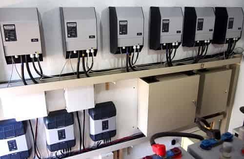 Hybrid System - Studer Installation