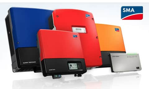 On Grid Solar Electric Generating System - SMA (GERMANY) PCU's