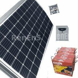 Solar Power Plant 3kVa48V2kWp