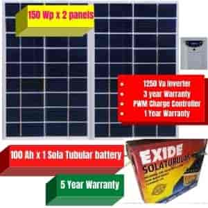 Solar Off Grid System For Home