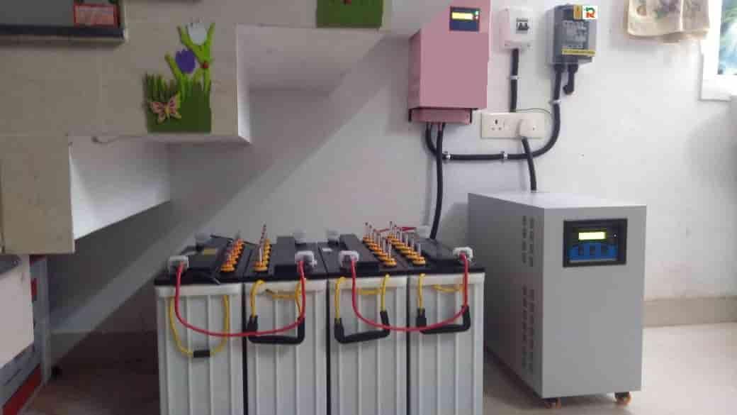 Solar Plant Installation Photos - 5kVA Off Grid
