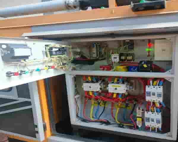 Solar Plant Installation Photos - Reverse Power Relay