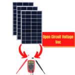 Open Circuit Voltage Voc