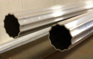 fluted aluminum