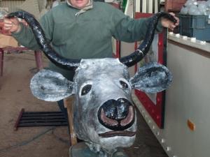 steer-head