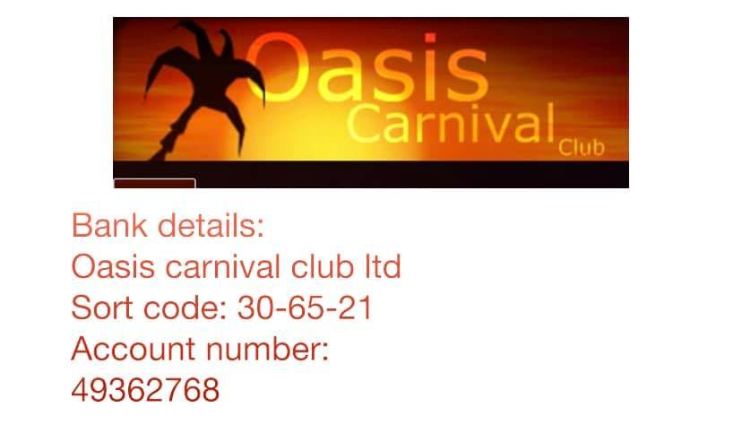 oasis prize draw