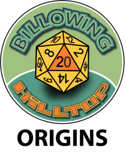 Billowing Hilltop Dungeons and Dragons Podcast Origins Page