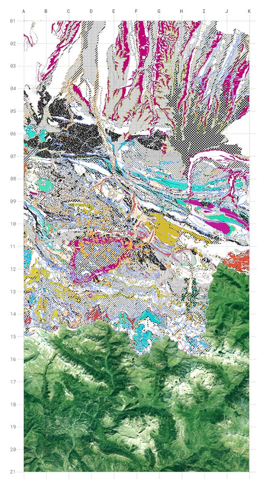 cartography gis architecture landscape pyrenees archeology experimental