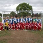 Jun 2015: U11s play host to a touring side from Wickhambrook, Suffolk