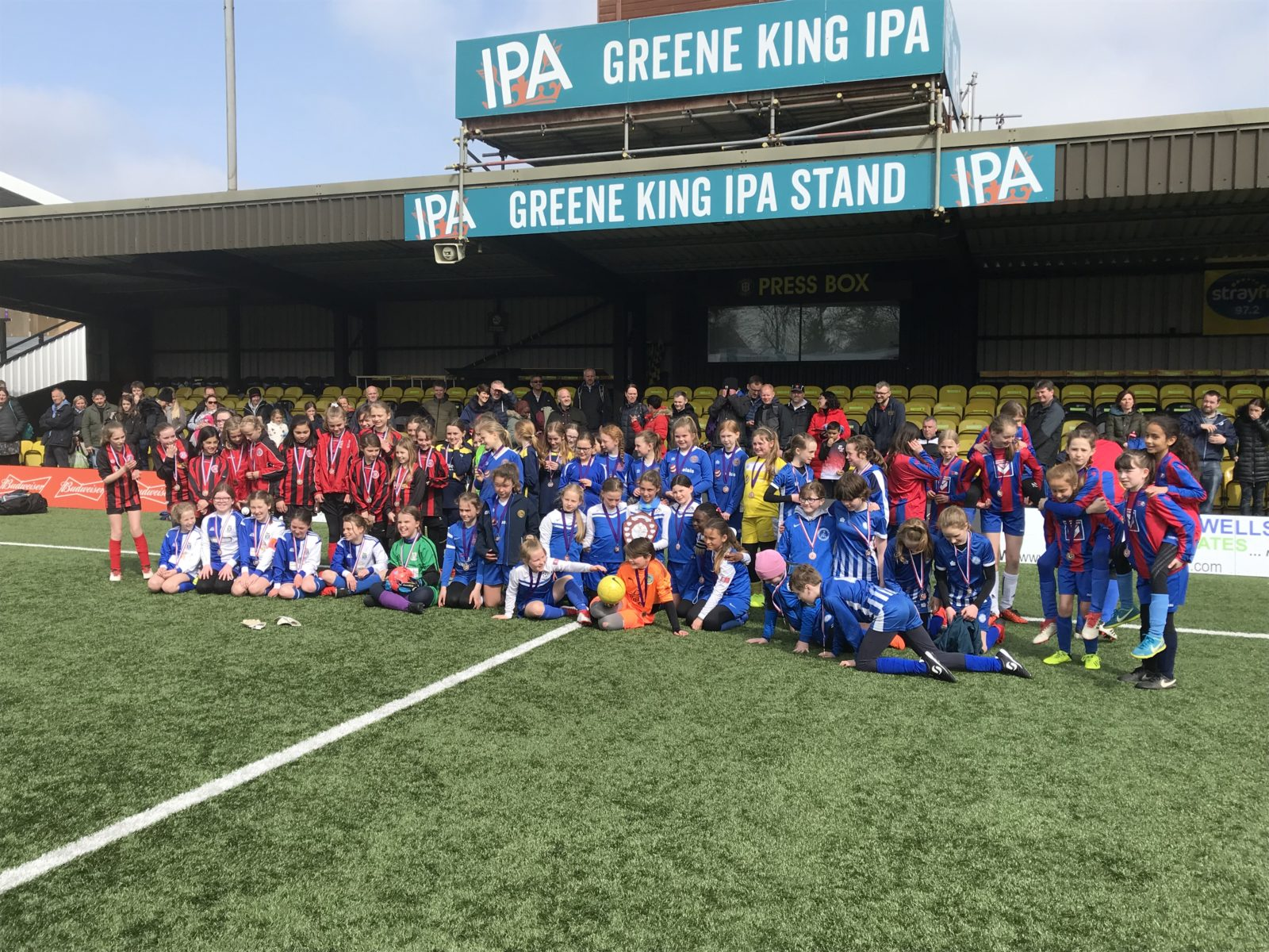 Apr 2019: U11s at the League Gala, played at Harrogate Town's CNG Stadium
