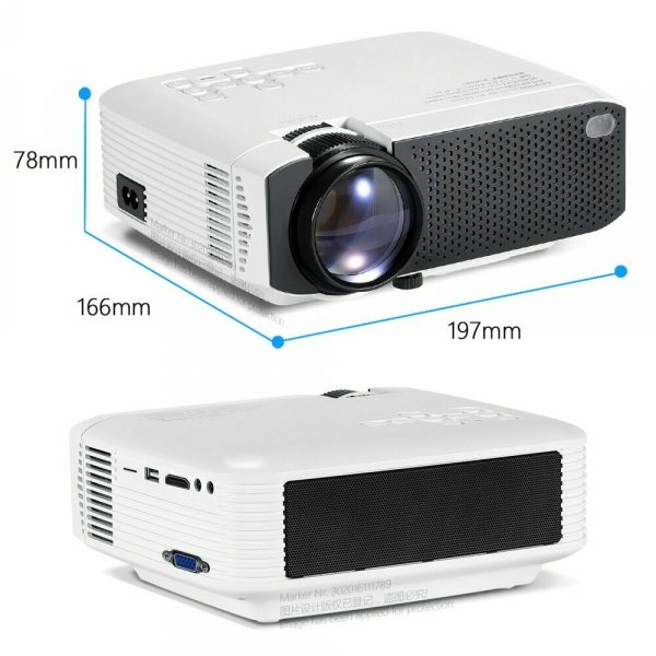 Dimensions of AUN Projector