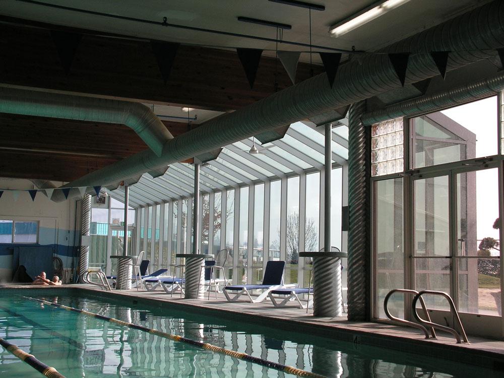 Sunroom in Pool Area