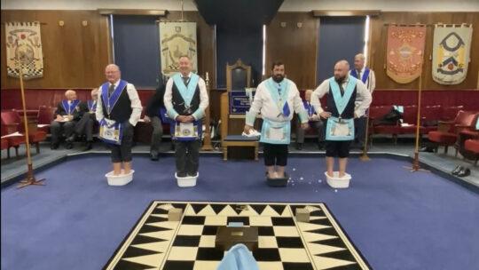No Cold Feet About a Masonic Return