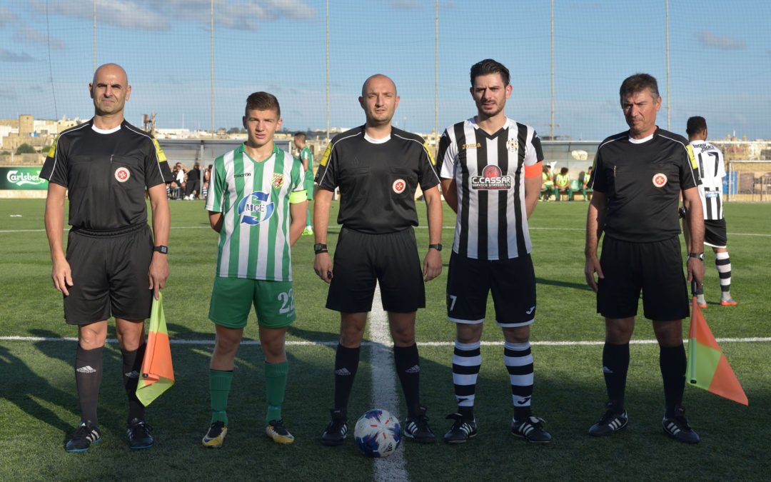 Kercem obtain a dramatic win in extra time with ten players