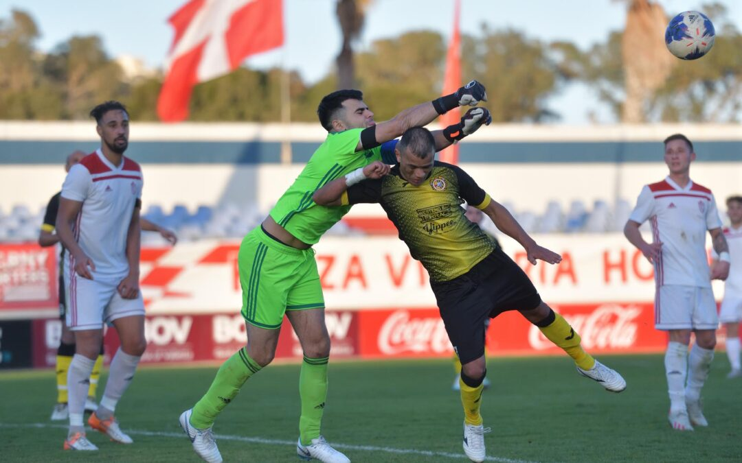 Xewkija Tigers defeat the champions with a last-gasp goal