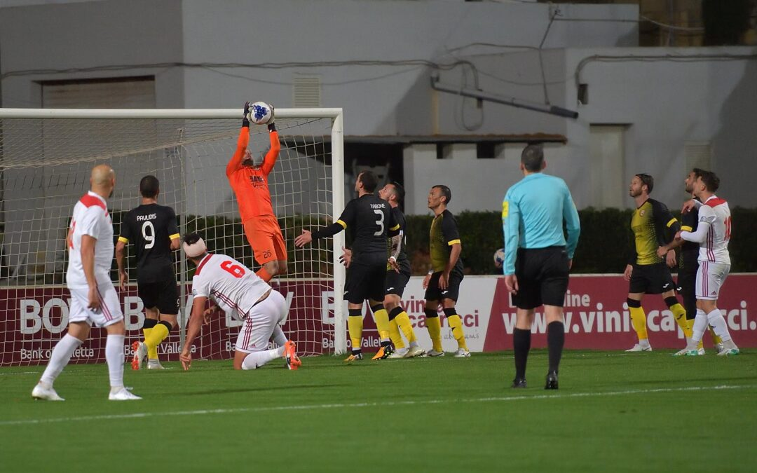 Hotspurs defeat Xewkija on penalties and reach the semi finals