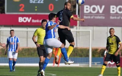 Xewkija defeat Gharb with two goals scored in each half