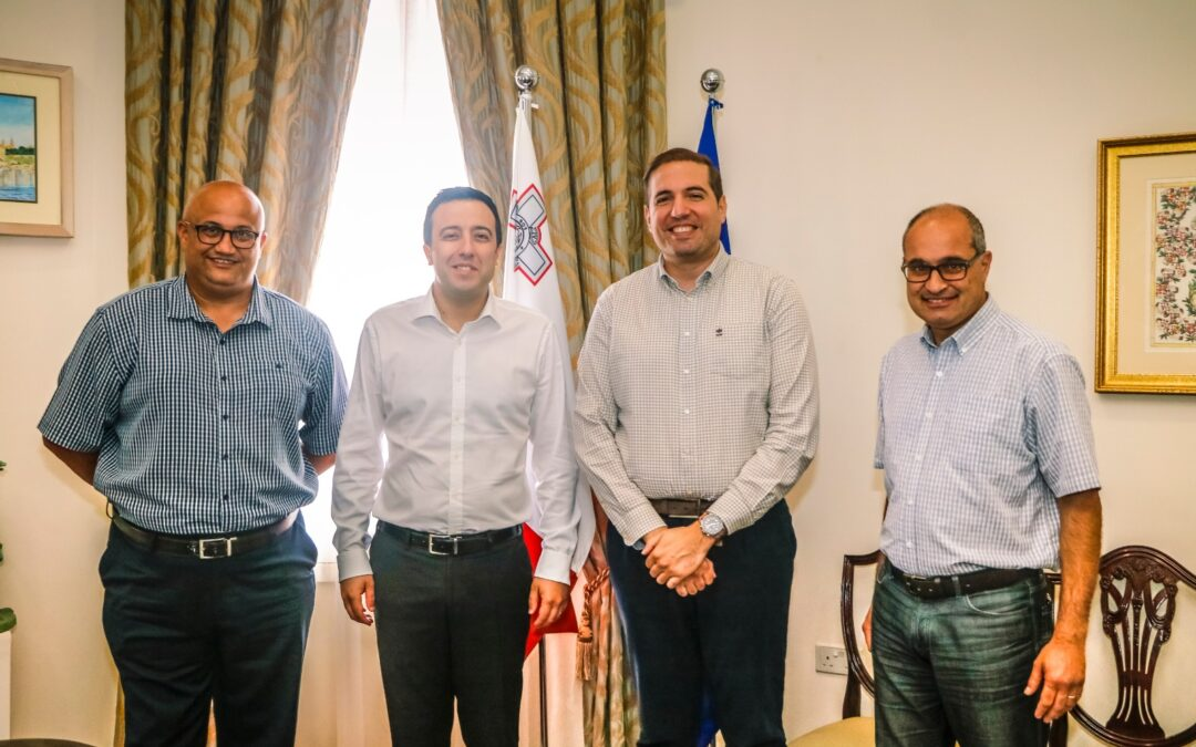 GFA meets the Minister for Gozo