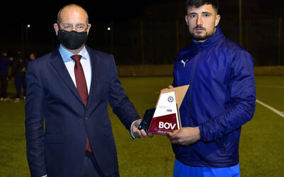 BOV GFA Player of the Month Nadur Youngsters' Steve Sultana wins November Award