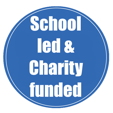 School led charity funded