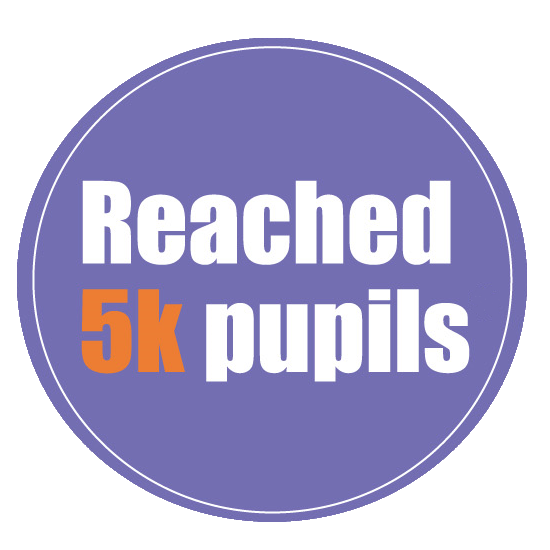 Reached 5k pupils