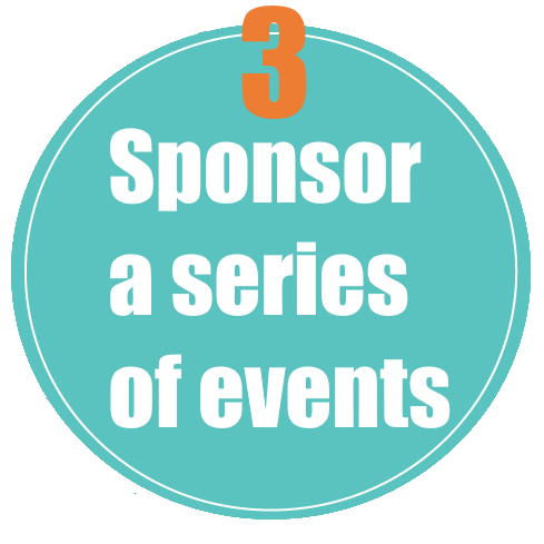 Sponsor a series of events