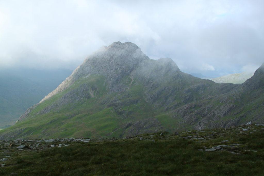 Cloudy landscape, Wales