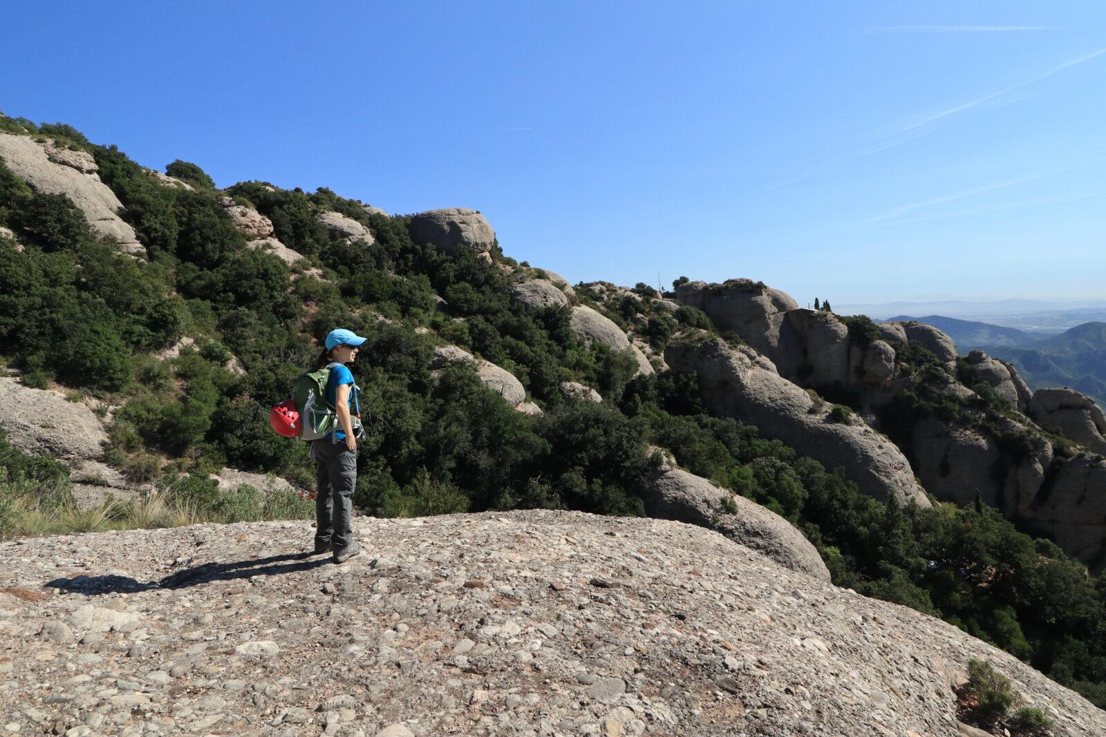 scrambling in Montserrat