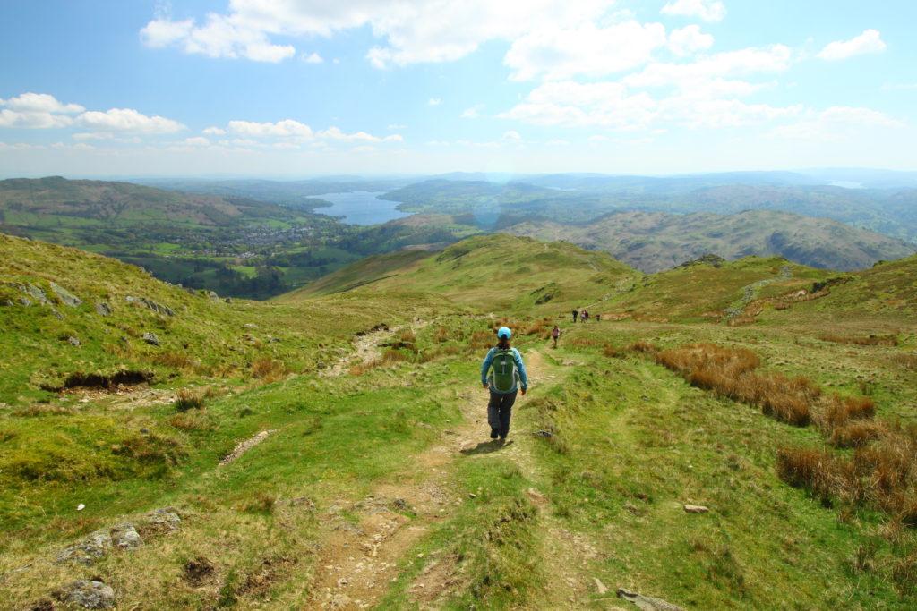 Great Langdale walking