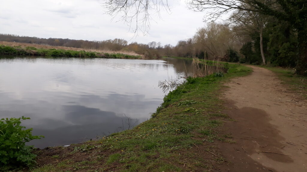 River Wey towpath