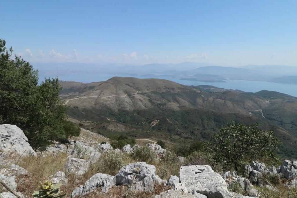 Hike to Corfu's Mount Pandokratoras